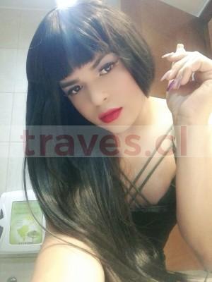 melany chica trans adicta al sexo oral